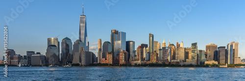 Foto op Aluminium New York Skyline of Lower Manhattan