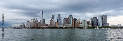 Skyline of Lower Manhattan - 193622843