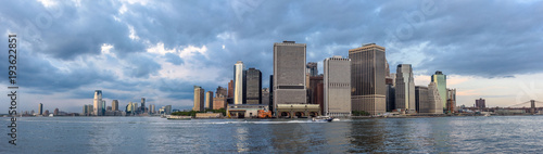 Skyline of Lower Manhattan - 193622851