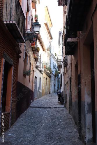 Wall Murals Narrow alley Albaicín