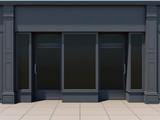 Classic shopfront in the sun - classic store front - 193663044