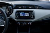 infotainment display of modern car