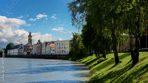 Leinwanddruck Bild Rattenberg in Tirol