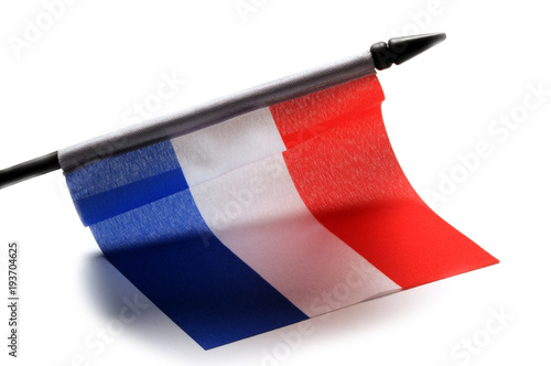 Foto op Plexiglas Rotterdam Vlag van Nederland