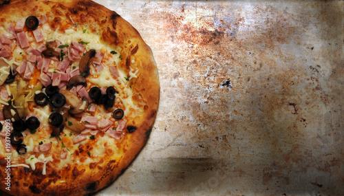 Fotobehang Pizzeria Pizza