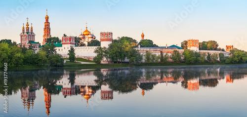 Klasztor Nowodziewiczy. Moskwa. Wcześnie rano
