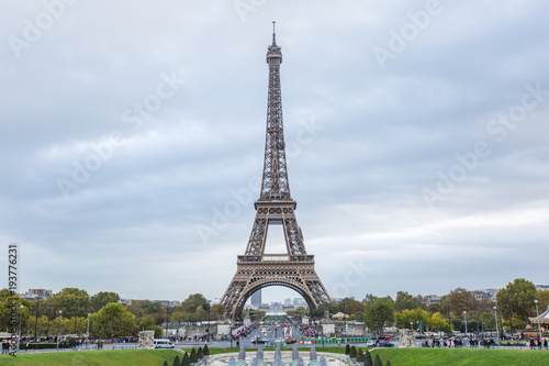 Eiffel tower in Paris - France. Poster