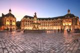 Place De La Bourse in Bordeaux, France. A Unesco World Heritage - 193781231