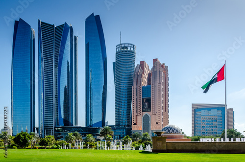 Foto op Canvas Abu Dhabi Abu Dhabi