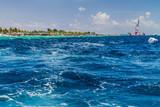 Waves in a sea near Male, Maldives - 193812213