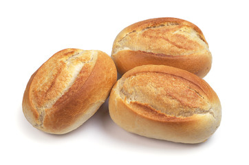 Loaves of small bread