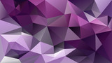 vector abstract irregular polygonal background - triangle low poly pattern - vibrant ultra violet, dark purple and lavender color - 193843039