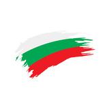 Bulgaria flag, vector illustration - 193845214