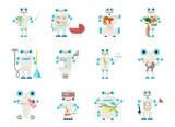 Home Robot For Housework Wall Sticker