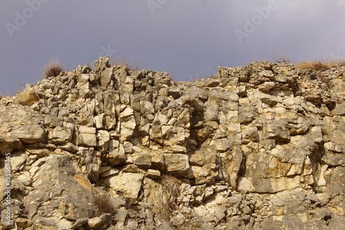 Fototapeta Cerro con cielo