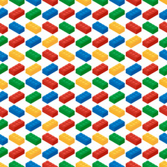 Seamless pattern from building blocks