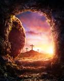 Empty Tomb - Crucifixion And Resurrection Of Jesus Christ - 193881498