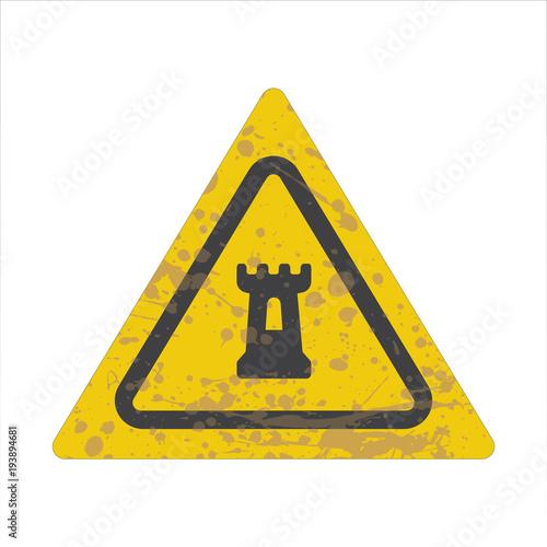 Warning/Street Sign - Fortress