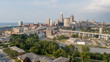 Cleveland from Ohio City - Aerial