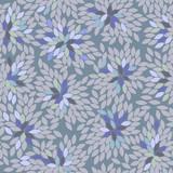 blue flowers, seamless pattern, vector - 193910226