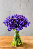 iris flowers bouquet