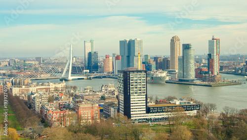 Foto op Plexiglas Rotterdam View of Rotterdam