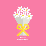 Womens day greeting card - 193930219