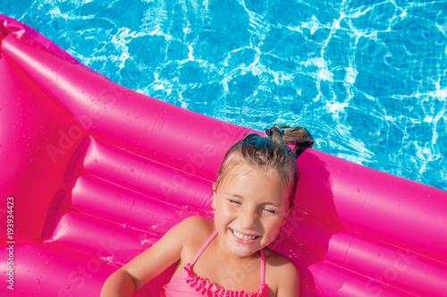 Leinwandbild Motiv summer girl