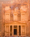Al Khazneh - the treasury, ancient city of Petra, Jordan - 193943098