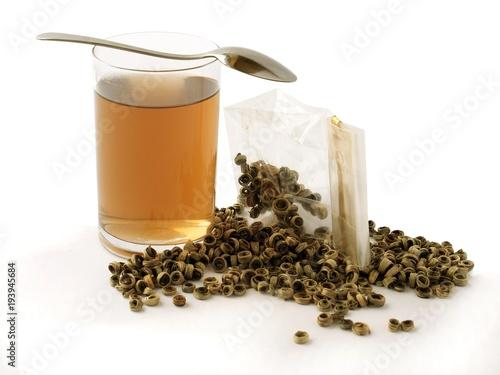 Papiers peints The glass of hot tea