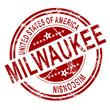 Milwaukee Washington stamp with white background