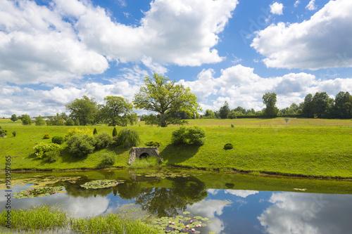 Aluminium Zomer Latvia Riga Landscapes with Beautiful Nature