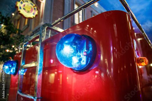 Flasher na wóz strażacki