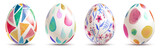 watercolor easter eggs - 193982889
