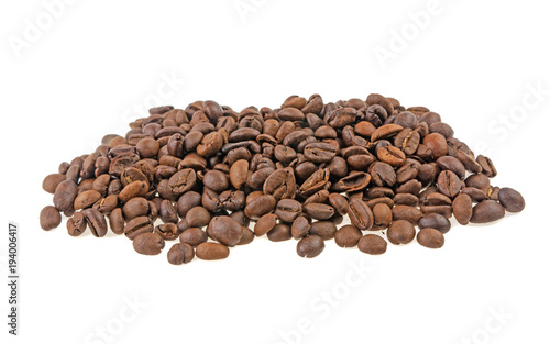 Papiers peints Café en grains coffee grains isolated on white background