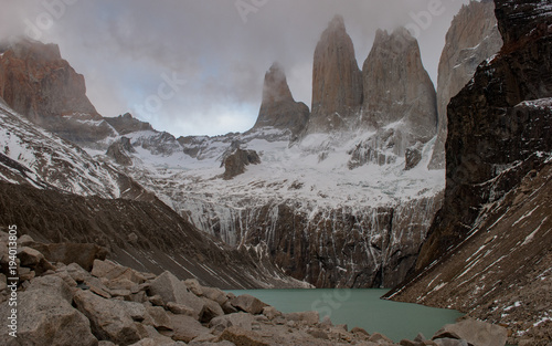 Aluminium Bleke violet Torres del Paine