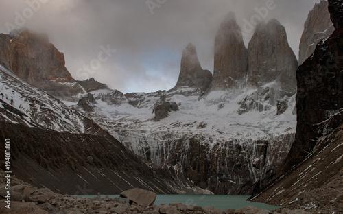 Aluminium Zwart Torres del Paine