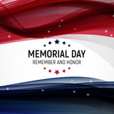 Memorial Day Background. Vector Illustration - 194024425