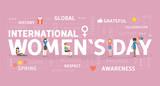 International Womans Day Wall Sticker