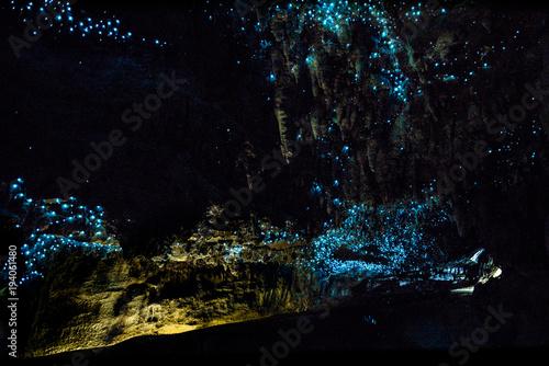 Sticker New Zealand Glow Worms in Waipu Cave