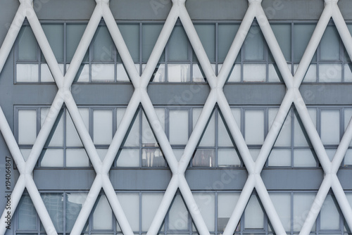 Facade of modern building - 194064847
