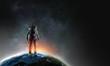 Adventure of spaceman. Mixed media - 194069839