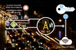 iot smart parking area and automotive network