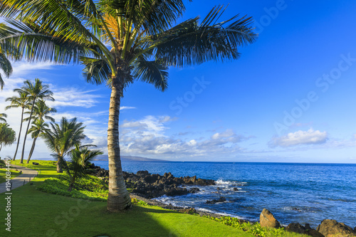 Wailea Beach near Kihei, Maui, Hawaii
