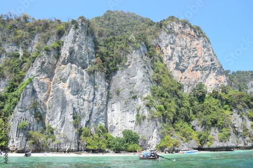 Staande foto Olijf koh phi phi thailande