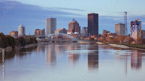 Rochester Skyline, USA.