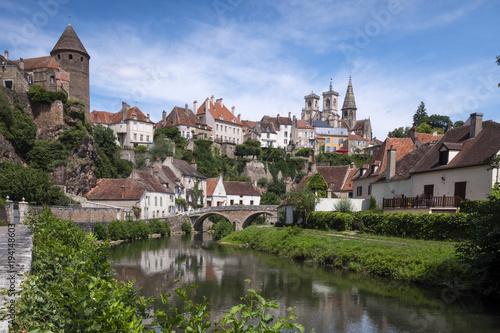 Foto Murales  .Semur-en-Auxois Côte-d'Or Bourgogne-Franche-Comte France
