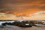 Rocky Stormy Sunset - 194162820