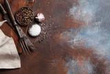 Vintage kitchen utensils and spices - 194166079