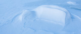 Natural wind snow pattern background